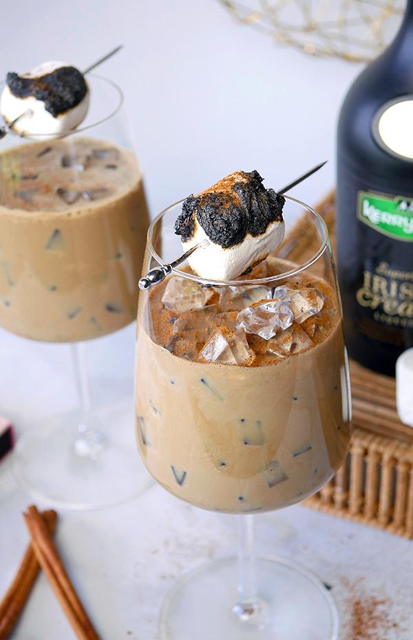 Dessert Cocktails with Kerry Gold Irish Cream // stirandstrain.com