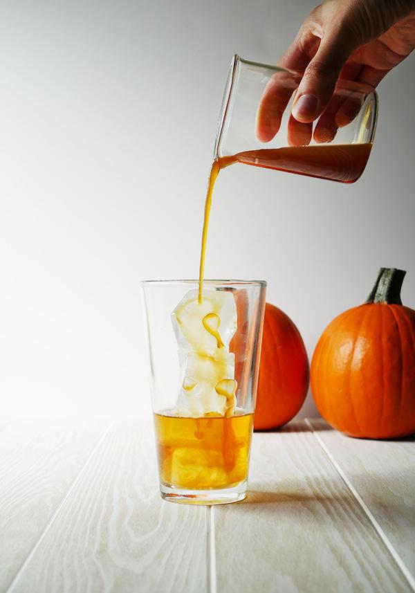 PS Coffee Old Fashioned Cocktail with Truvia // stirandstrain.com