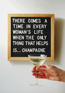 Monday Booze News: ring for champagne // stirandstrain.com