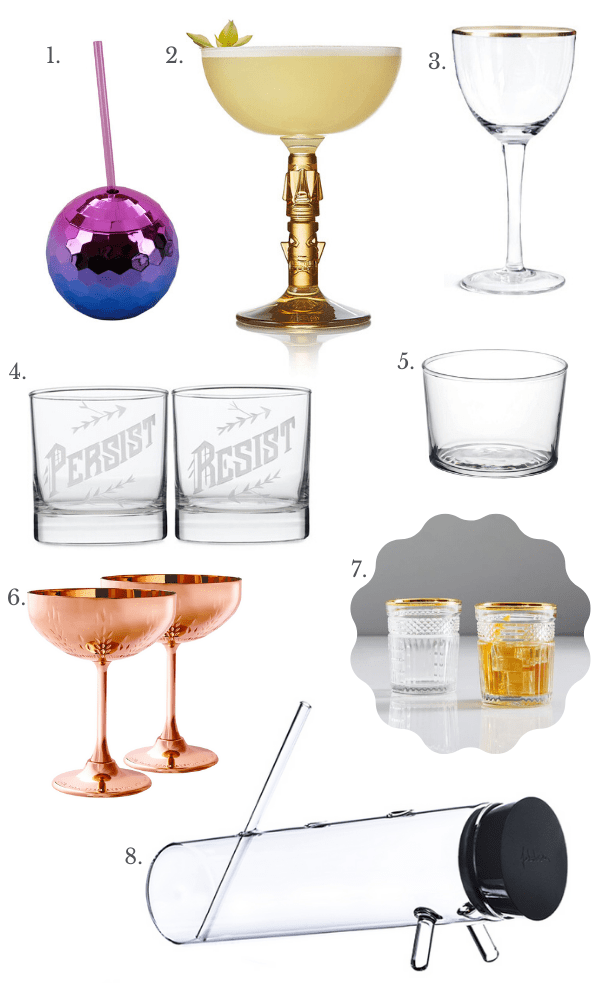 Holiday Gift Guide: Glassware // stirandstrain.com
