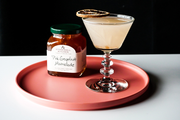 Cocktail Pantry Twists: Pink Grapefruit Daiquiri // stirandstrain.com