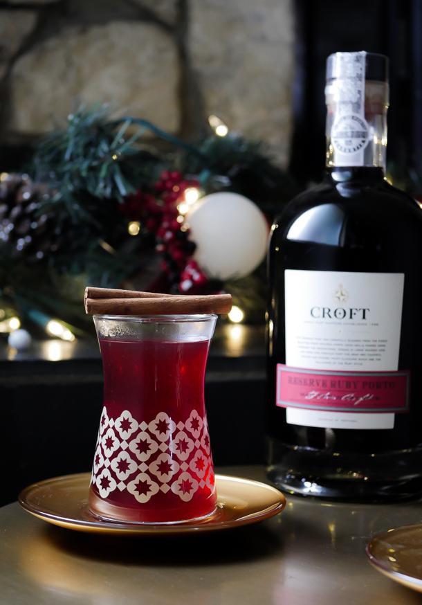 Croft Port Holiday Cocktail 2019 // stirandstrain.com