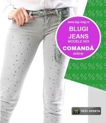 Blugi si Jeans Dama Femei si Copii Magazin big mag