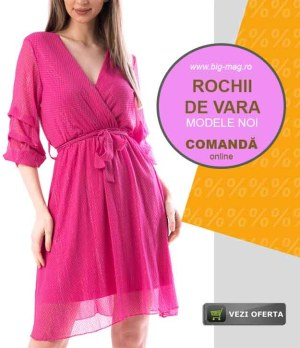 Rochii elegante de Vara Magazin Big Mag