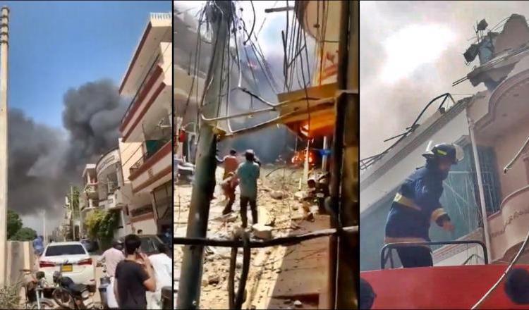 Niciun supraviețuitor în accidentul aviatic din Pakistan. Imagini de la locul dezastrului