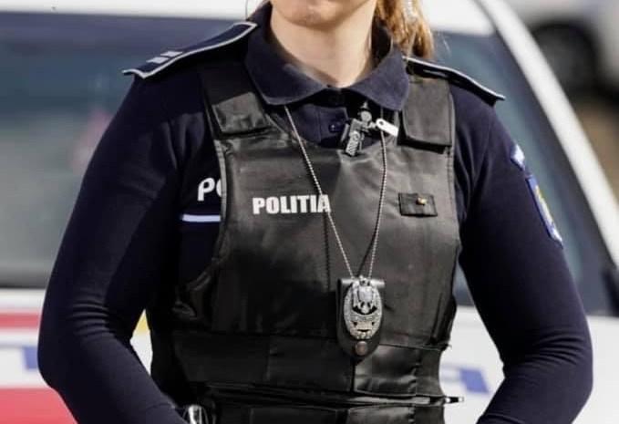 Polițista lângă care orice coleg dorește să-i fie partener de serviciu