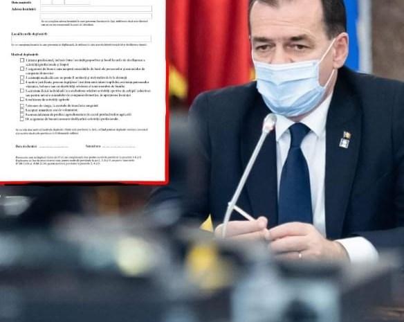 Noi restricții pentru români? Ludovic Orban a făcut anunțul