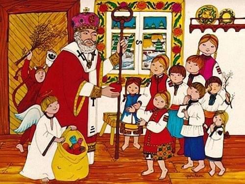 Ajun de Moș Nicolae. Cele mai frumoase poezii pentru cei mici de Sfântul Nicolae