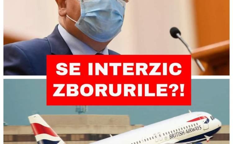 România interzice zborurile din Regatul Unit?! Declarația lui Raed Arafat