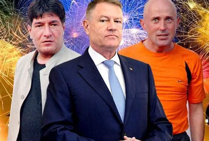 """Scandalul Revelionului de la TVR cu Mihăescu și Pietreanu, după ce Iohannis a fost interpretat spunând: """"În 2021 tre' să fii tare bou să mai stai închis în casă!"""""""