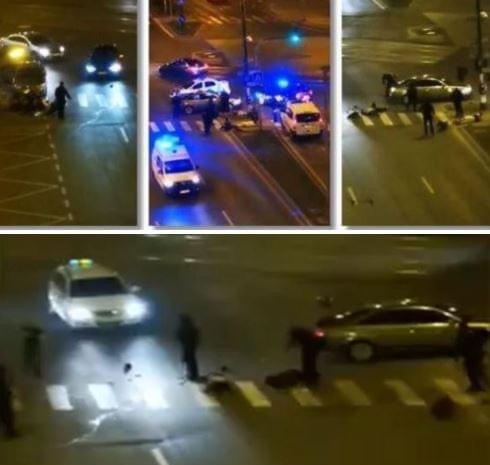Scene halucinante la Timișoara. Doar mascații au putut opri o bătaie în trafic, în centrul orașului