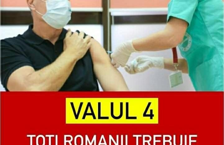 """Iohannis Avertizează Despre Valul 4 De Covid: """"Fiecare Român Să Se Vaccineze, Dacă Nu Vrea Să Ajungă La Spital"""""""