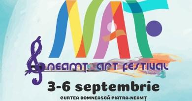 Vineri 4 septembrie, a doua zi a NEAMŢ ART FESTIVAL