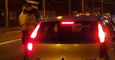 Acțiune a polițiștilor pentru prevenirea accidentelor rutiere