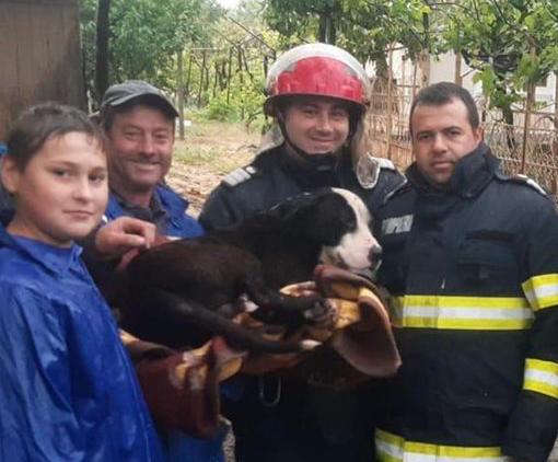 De 1 Iunie, un echipaj al Secției de Pompieri Măcin au făcut un copil fericit!