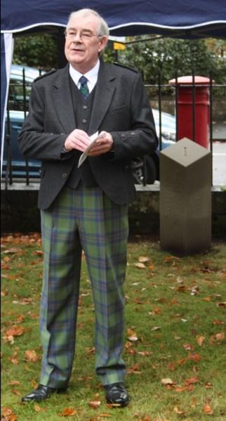 Deacon of Hammermen Stuart Campbell