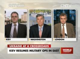 Kiev Resumes Military ops in East.