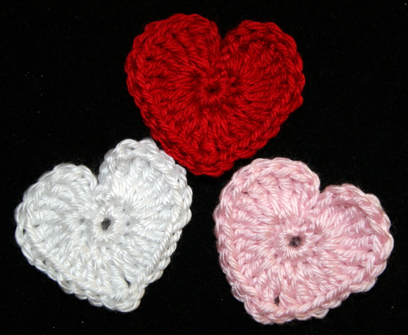 Free Crochet Heart Pattern Stitch4ever