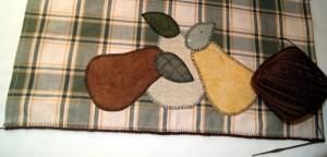 Machine blanket stitch 4.0 length x 4.5 width