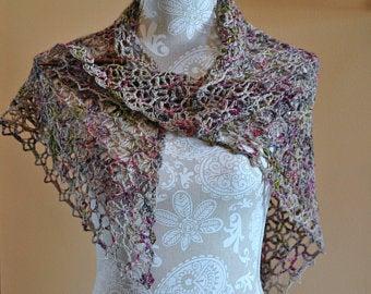 Hand Crochet Shawl