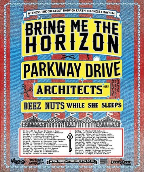 Bring Me The Horizon North American Headliner Tour