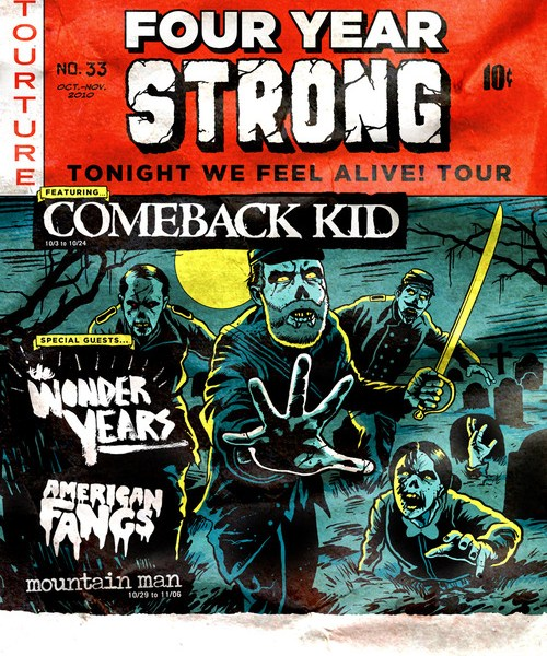 Four Year Strong announces fall tour