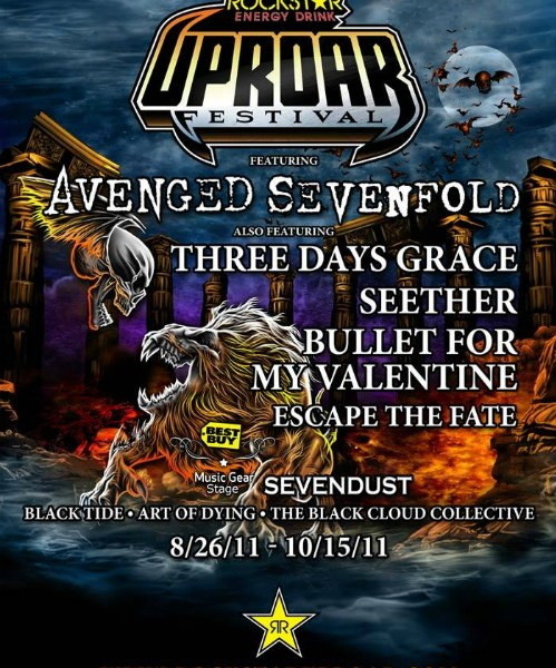 Uproar Festival Acts announced
