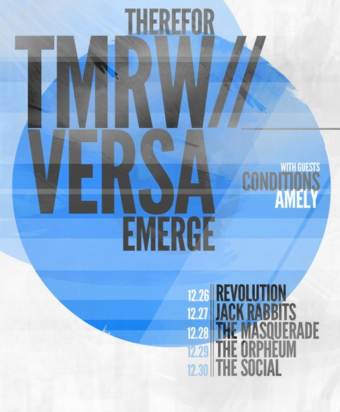 VersaEmerge & There For Tomorrow on a co-headliner