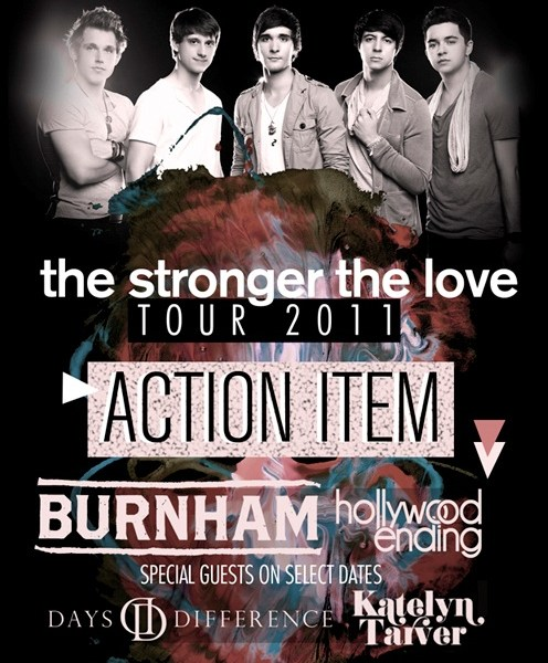 Action Item Release Fall Tour Dates