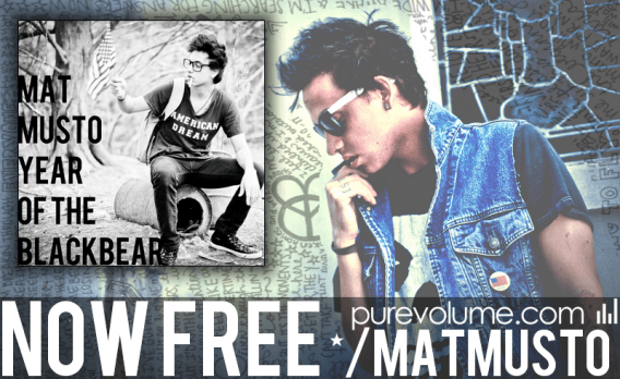 Mat Musto gives away free EP