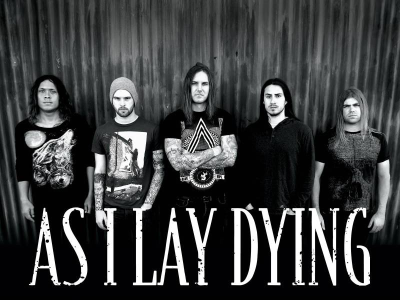 As I Lay Dying special ticket bundles