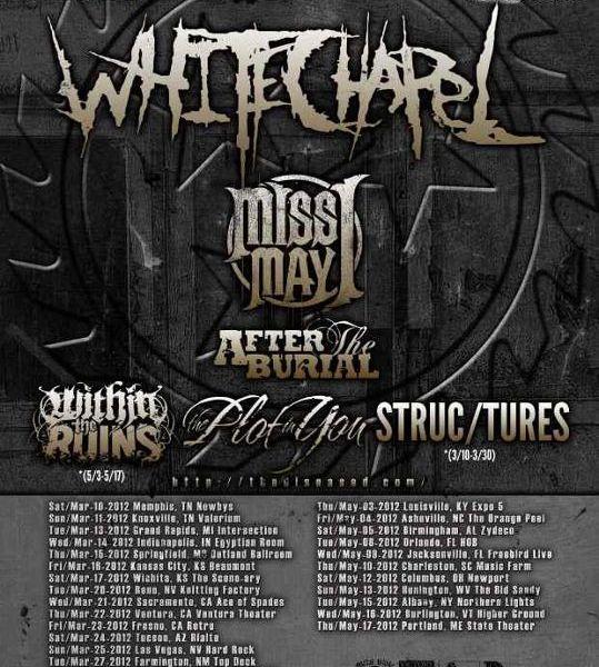 Recorruptour tour dates