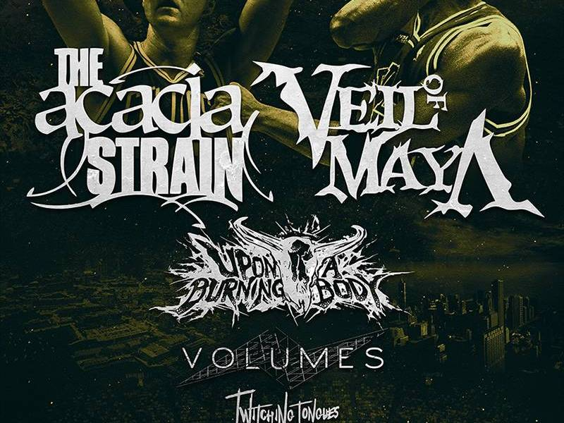 The Acacia Strain and Veil Of Maya to head out on tour this November