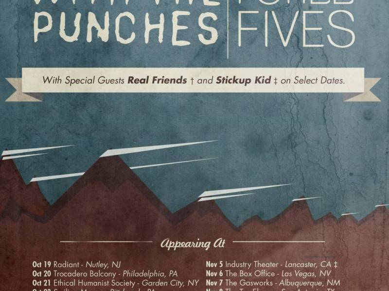 I Call Fives & With The Punches fall co-headlining tour