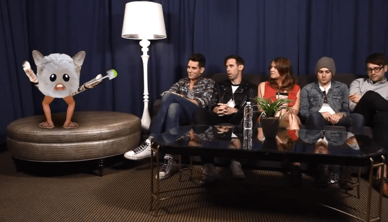 Cobra Starship interview with Piddy Cat