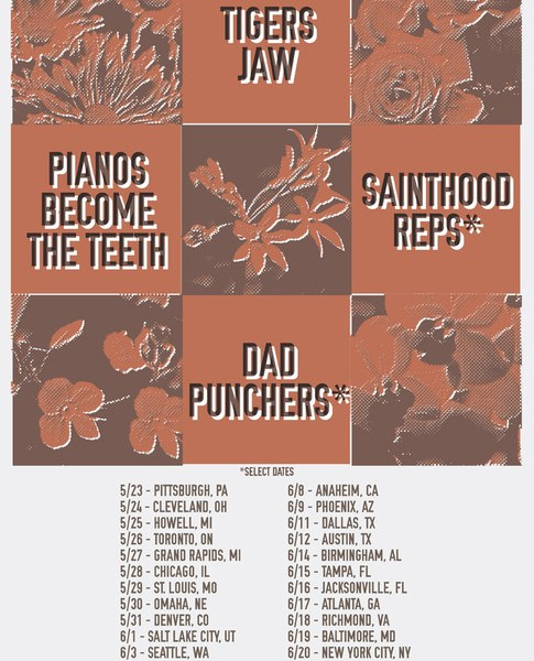 Tigers Jaw Farewell Tour