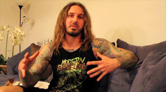 As I Lay Dying Frontman Arrested For Hiring Hit Man