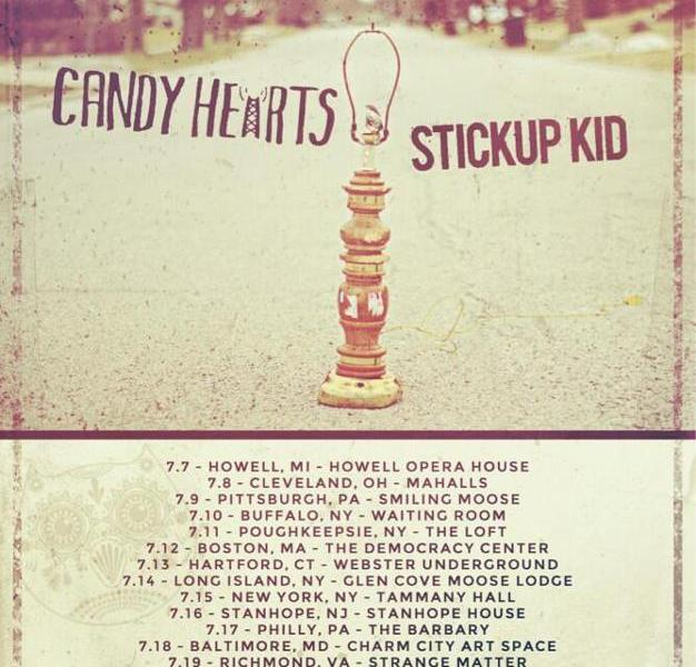 Candy Hearts Announce New Tour