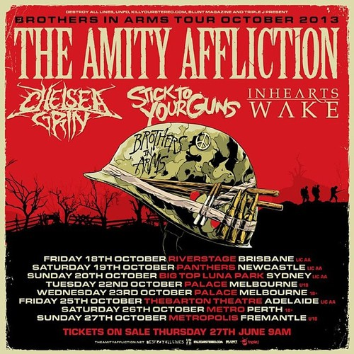The Amity Affliction Announce Australian Tour