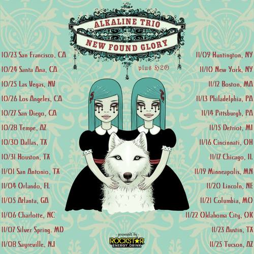 New Found Glory/Alkaline Trio Announce Fall Tour