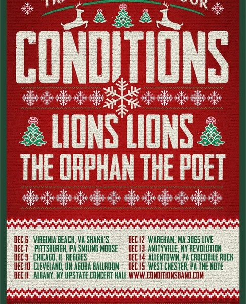 Conditions Announce Holiday Tour