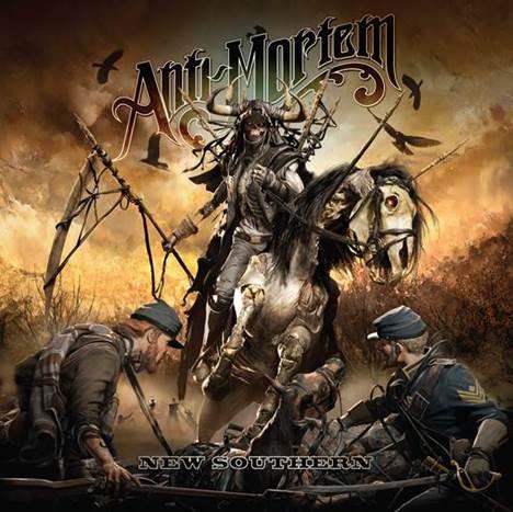 ANTI-MORTEM release album artwork for 'New Southern'