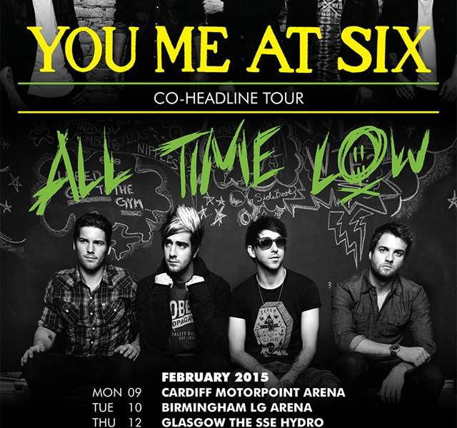 You Me At Six + All Time Low Announce UK Arena Tour
