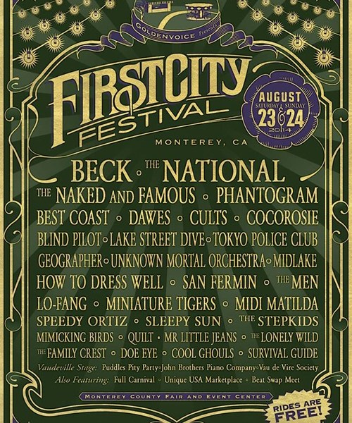 2014 First City Festival Lineup Announced