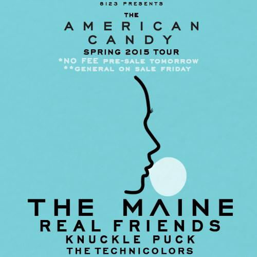 The Maine Announce Spring Headlining Tour