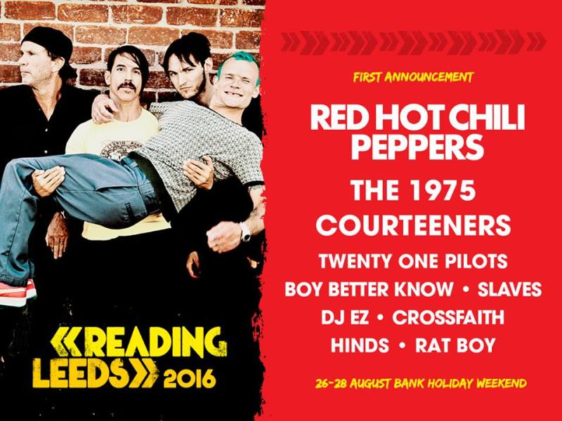First Round of Bands Announced For 2016 Reading & Leeds Festival