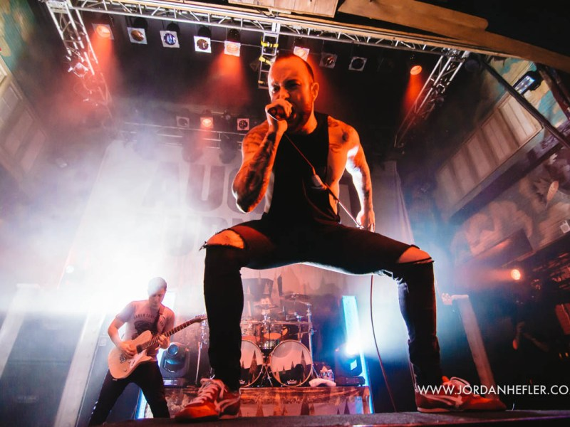 August Burns Red North America Tour – 12.12.2015 New Orleans, LA