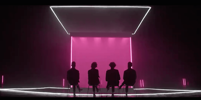 "The 1975 release new music video for ""The Sound"""