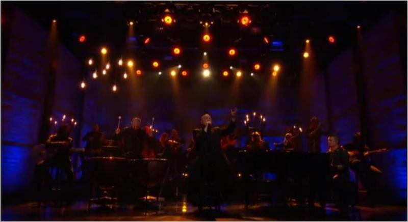 """Disturbed performs """"The Sound of Silence"""" on Conan"""