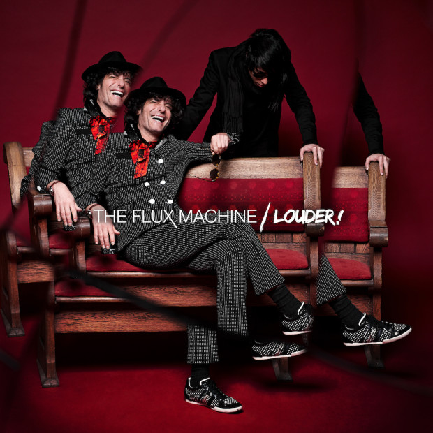 The Flux Machine - Louder! LP Art (High Res) (1)